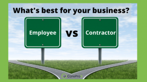 Employee vs. Contractor - What's best for your business?