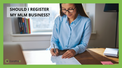 Should I register my mlm business?