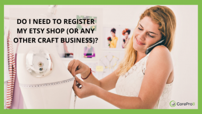 Do I need to register my etsy shop (or any other craft business)?