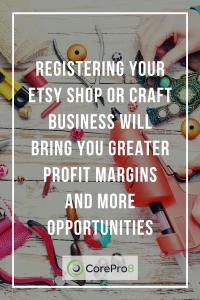 Register my etsy shop