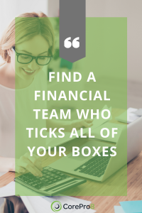 How to find a financial team for my business