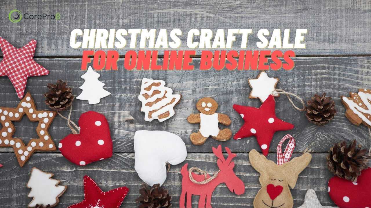 Christmas Craft Sale for Online Business