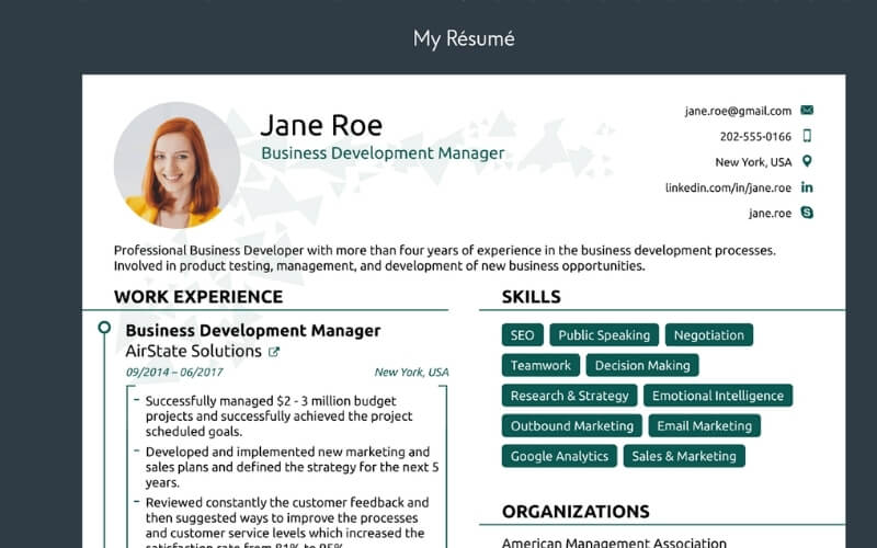 CV Design and Review Service