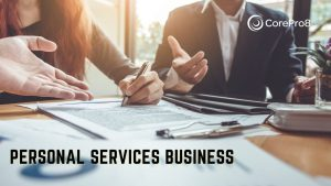 personal services business