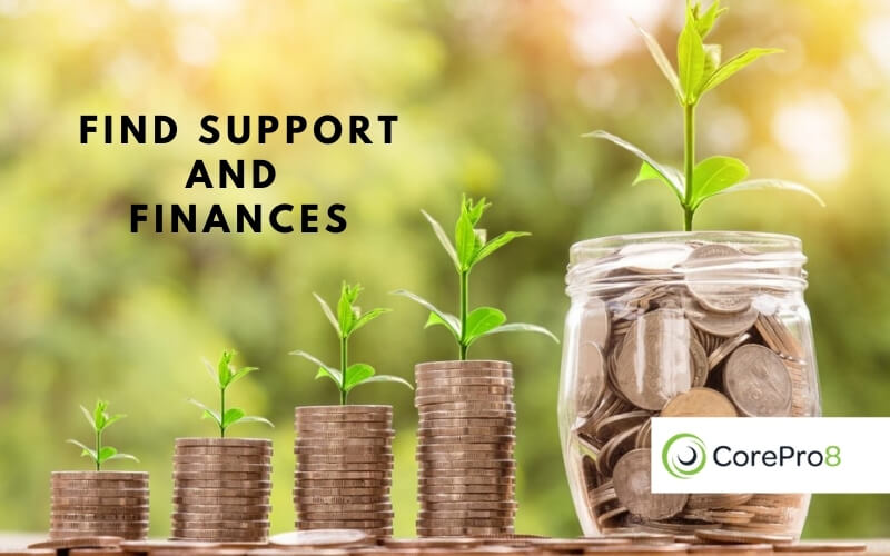 Find Support And Finances