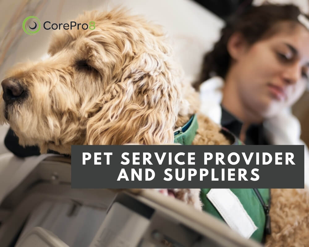 Pet Service Provider and Suppliers