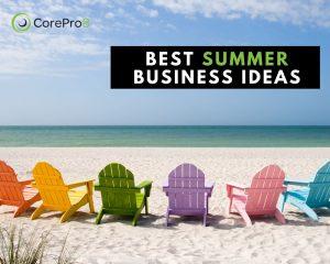 Summer Business Ideas